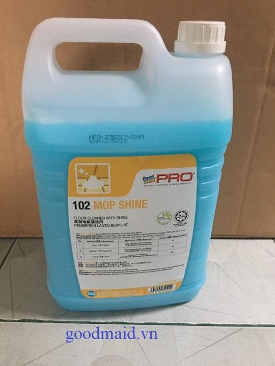 Dung dịch lau sàn tạo bóng Goodmaid Pro GMP 102 Mop Shine